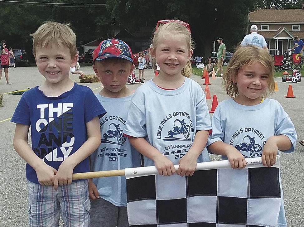 Optimist Club Big Wheel race