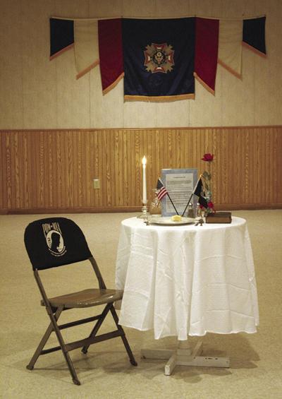 POW/MIA Table at VFW 9362