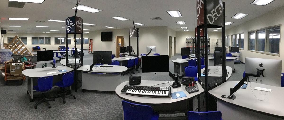 New STEAM lab in High School