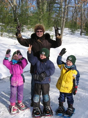 Resolve to try snowshoeing in 2012