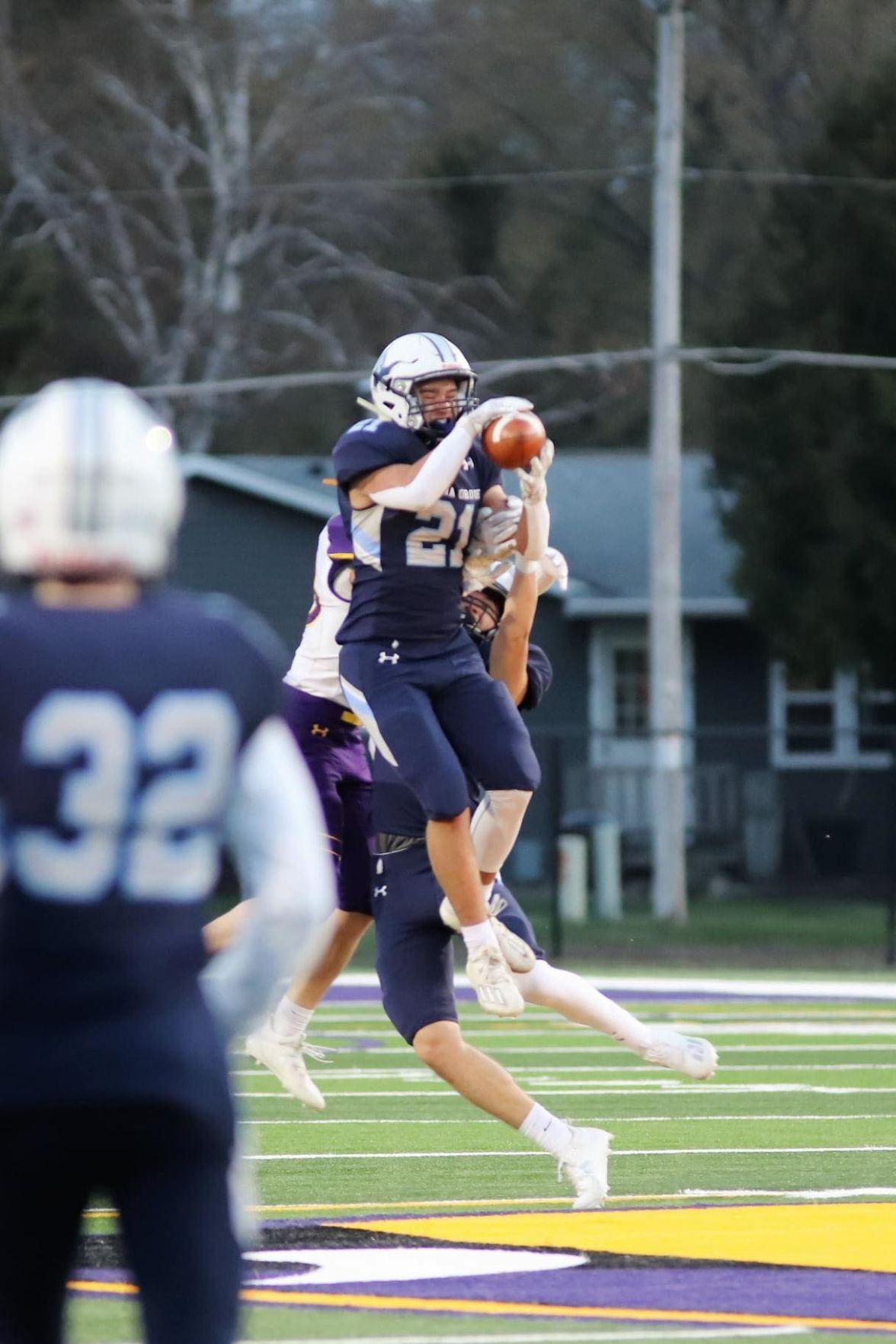 Tyler Dahlhauser interception