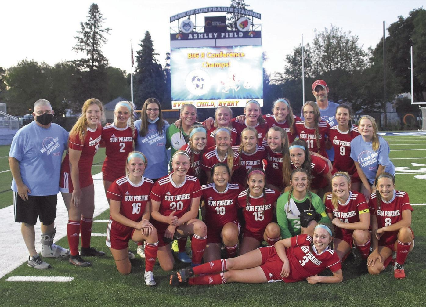 Big Eight Conference Girls Soccer Champs