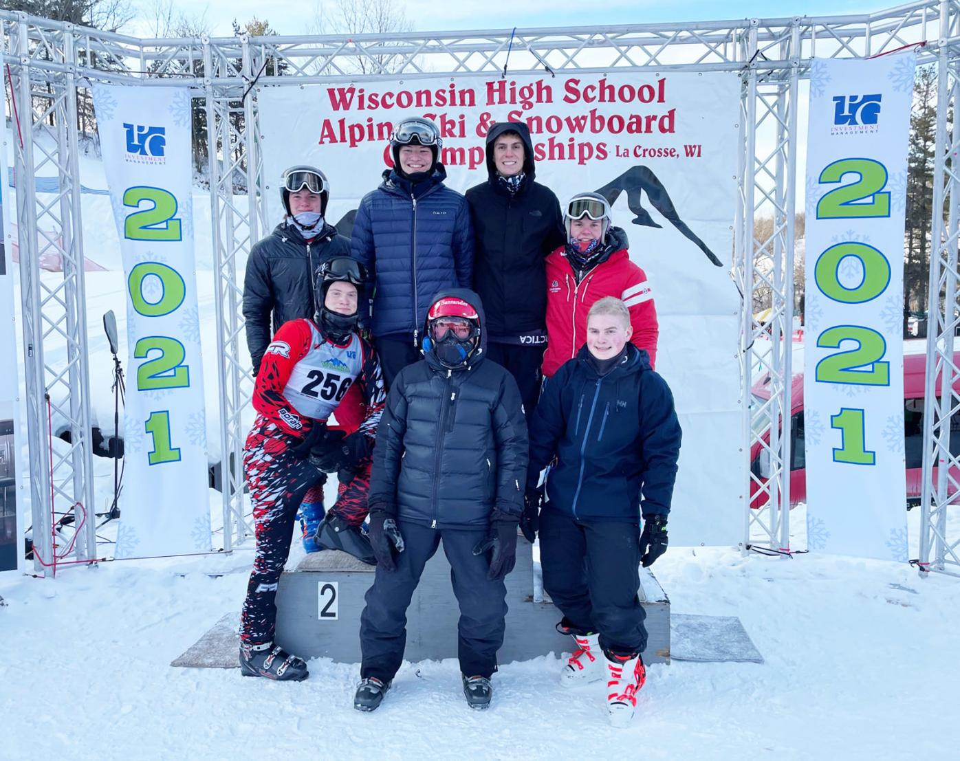 State skiers