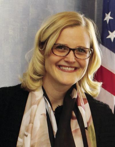 Wisconsin State Treasurer Sarah Godlewski
