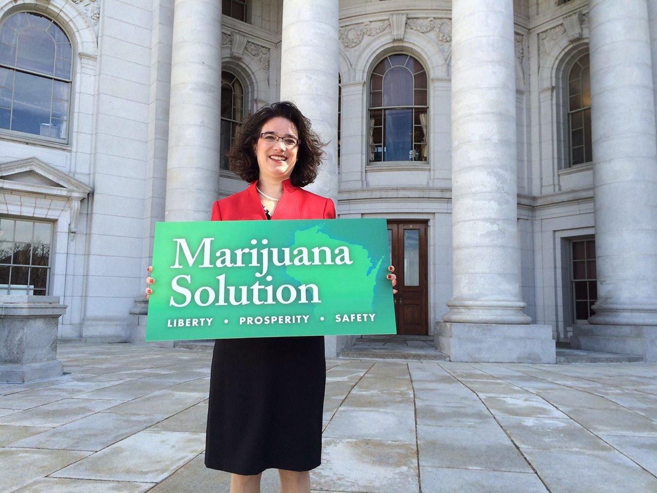 Melissa Agard, Marijuana Sign