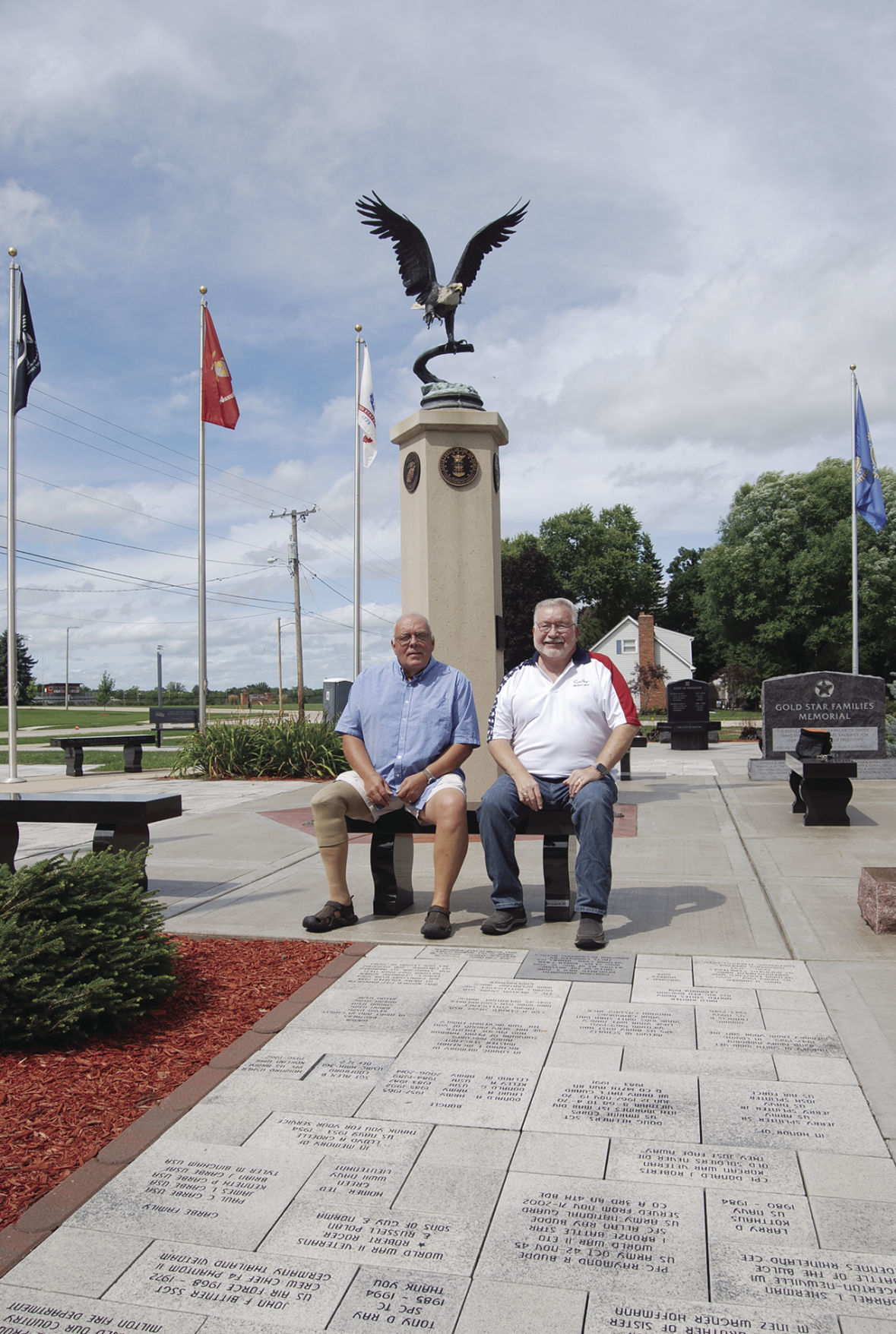 Two vets in Veterans Paris