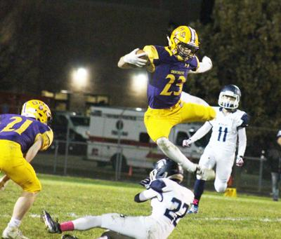 Leaping to a playoff win