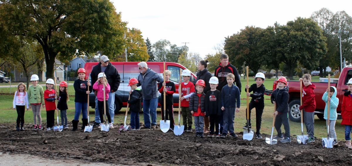 Groundbreaking elementary and school board