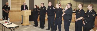 Sun Prairie Fire Department service awards (2019)