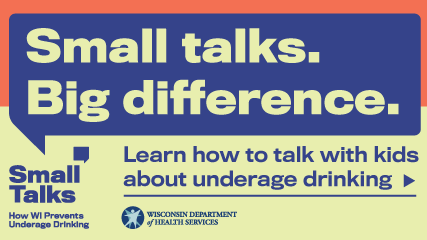 New effort to prevent underage drinking: Have small talks