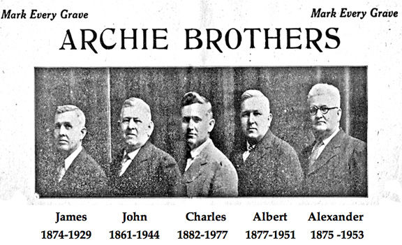 Archie Brothers, a monumental company