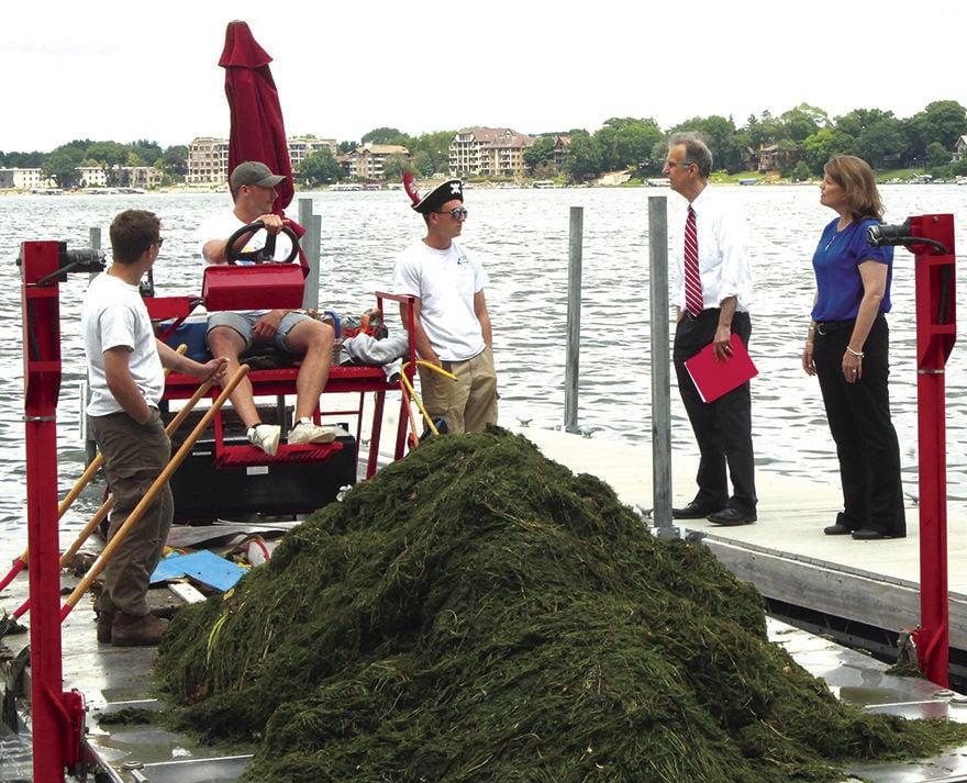 Lake clean up