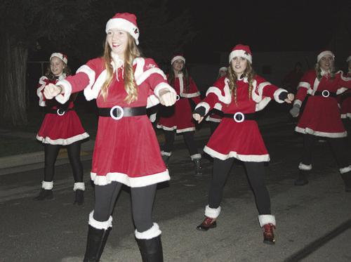 Santa Dancers