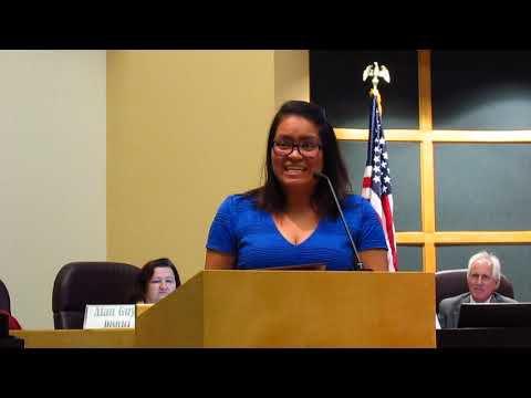 Joanna Cervantes proclamation -- 12-4-2018 Sun Prairie City Council meeting