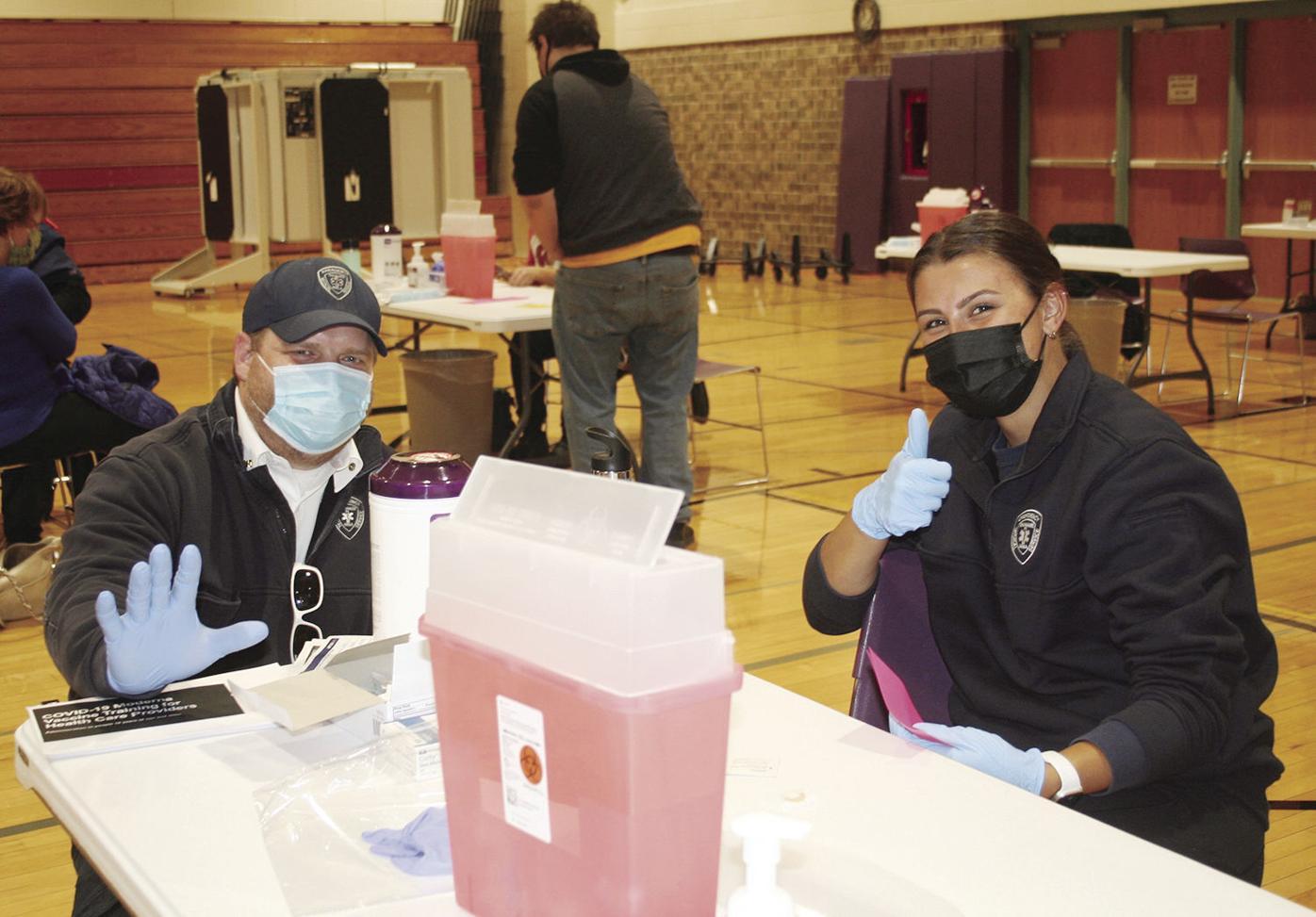 EMT vaccinators