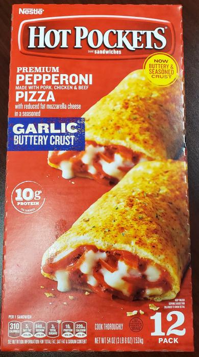 Nestlé Hot Pockets pepperoni 12-pack