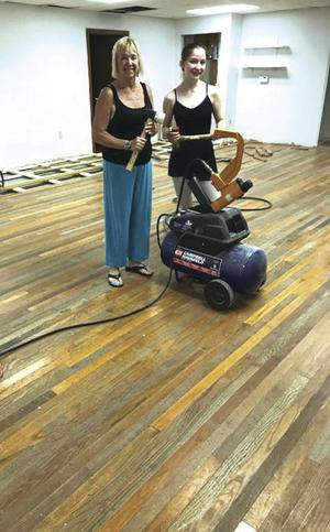 Creating a new floor