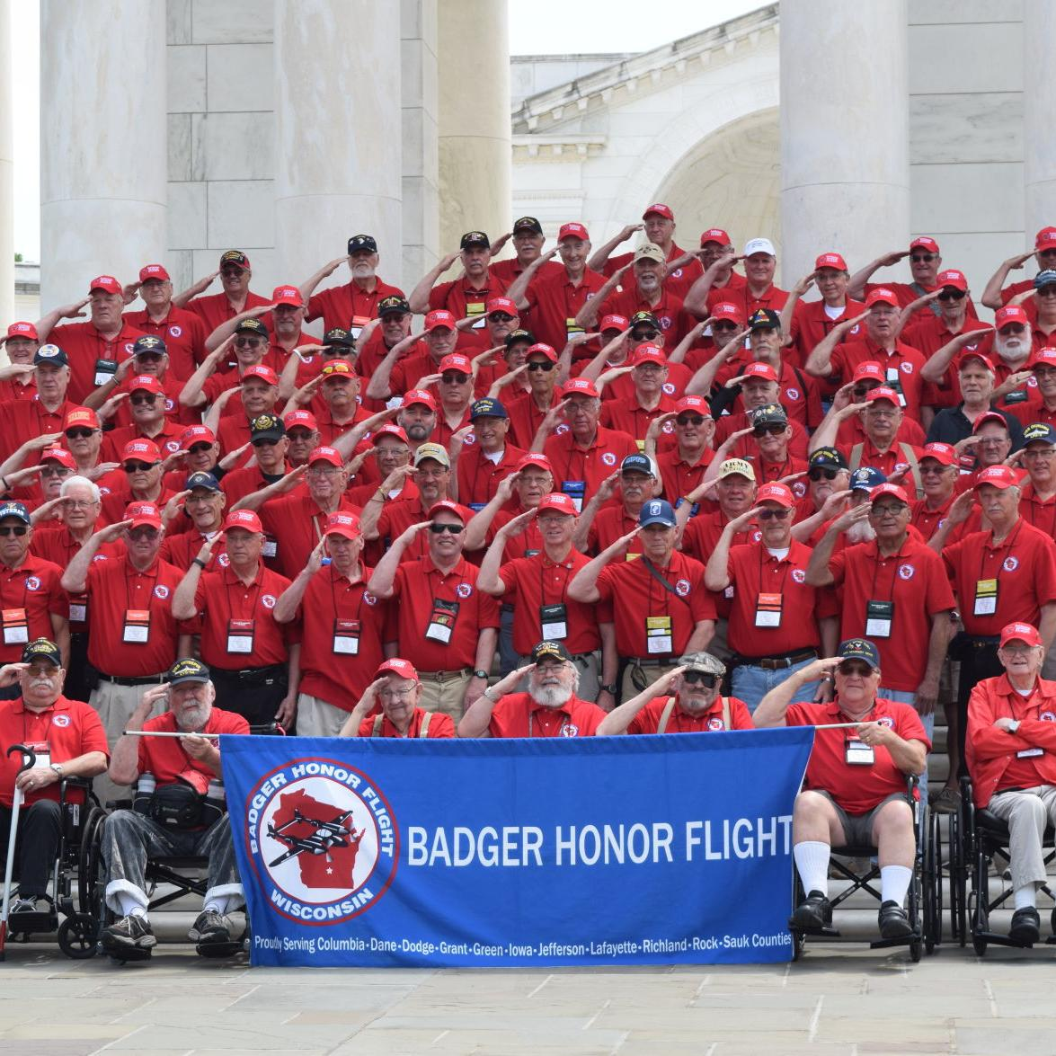 Badger Honor Flight May 12, 2018