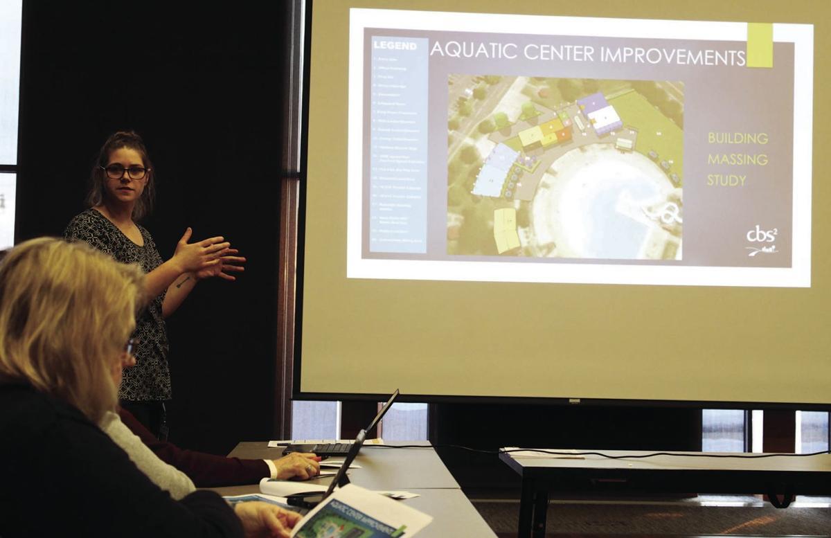 Kristin Grissom at Sheehan Park Plan unveiling