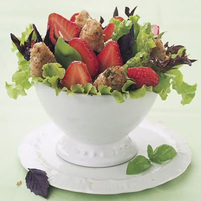 Strawberry and Chicken salad