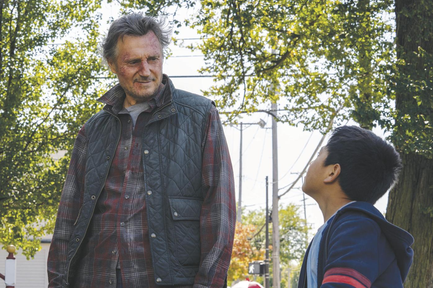 The Marksman -- Liam Neeson and Jacob Perez