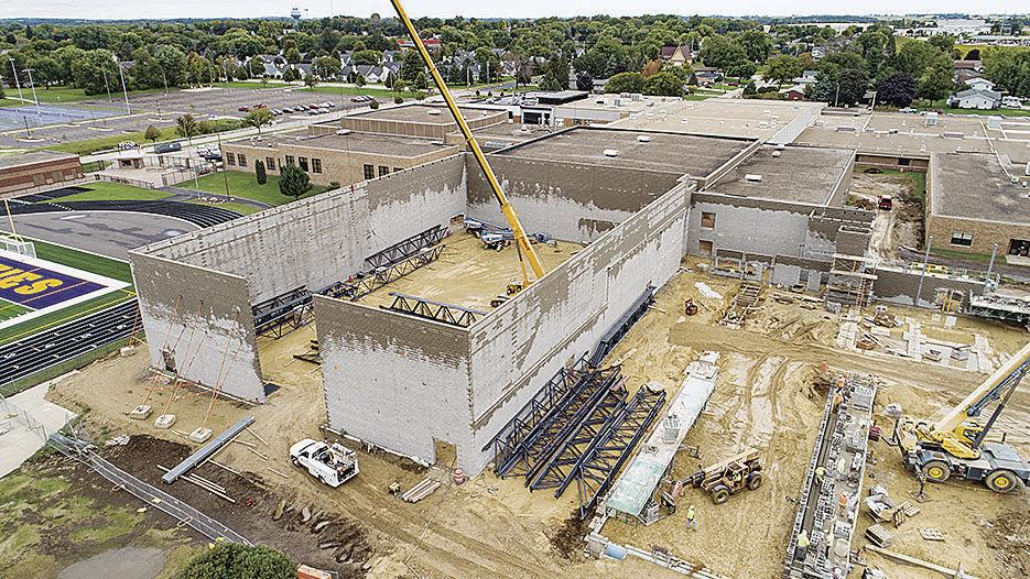 DeForest school building, renovation projects from 2019 referendum progressing on time