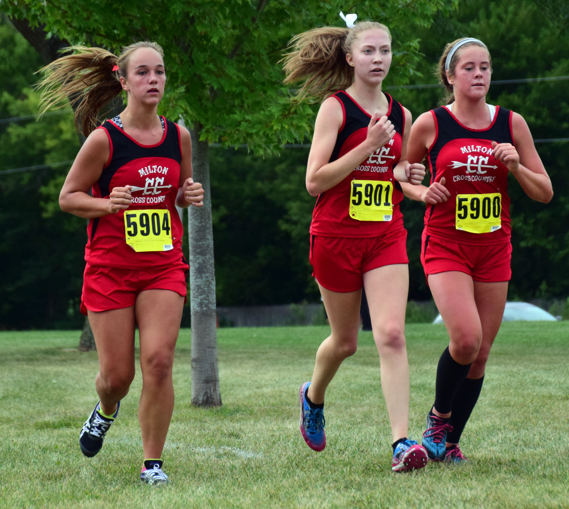 Kate Westrick, Taryn Rowley and Grace Rodenberg