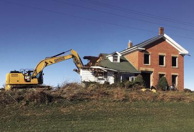 Schneider House demolition