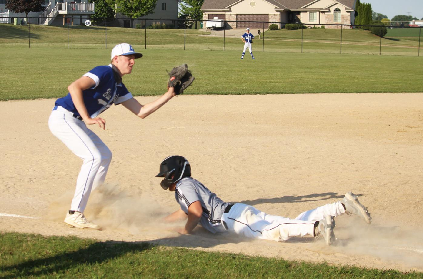 Play at third base