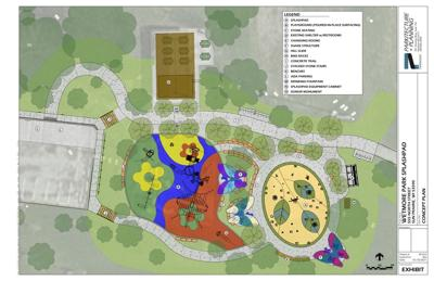 City's first splash pad to open this summer