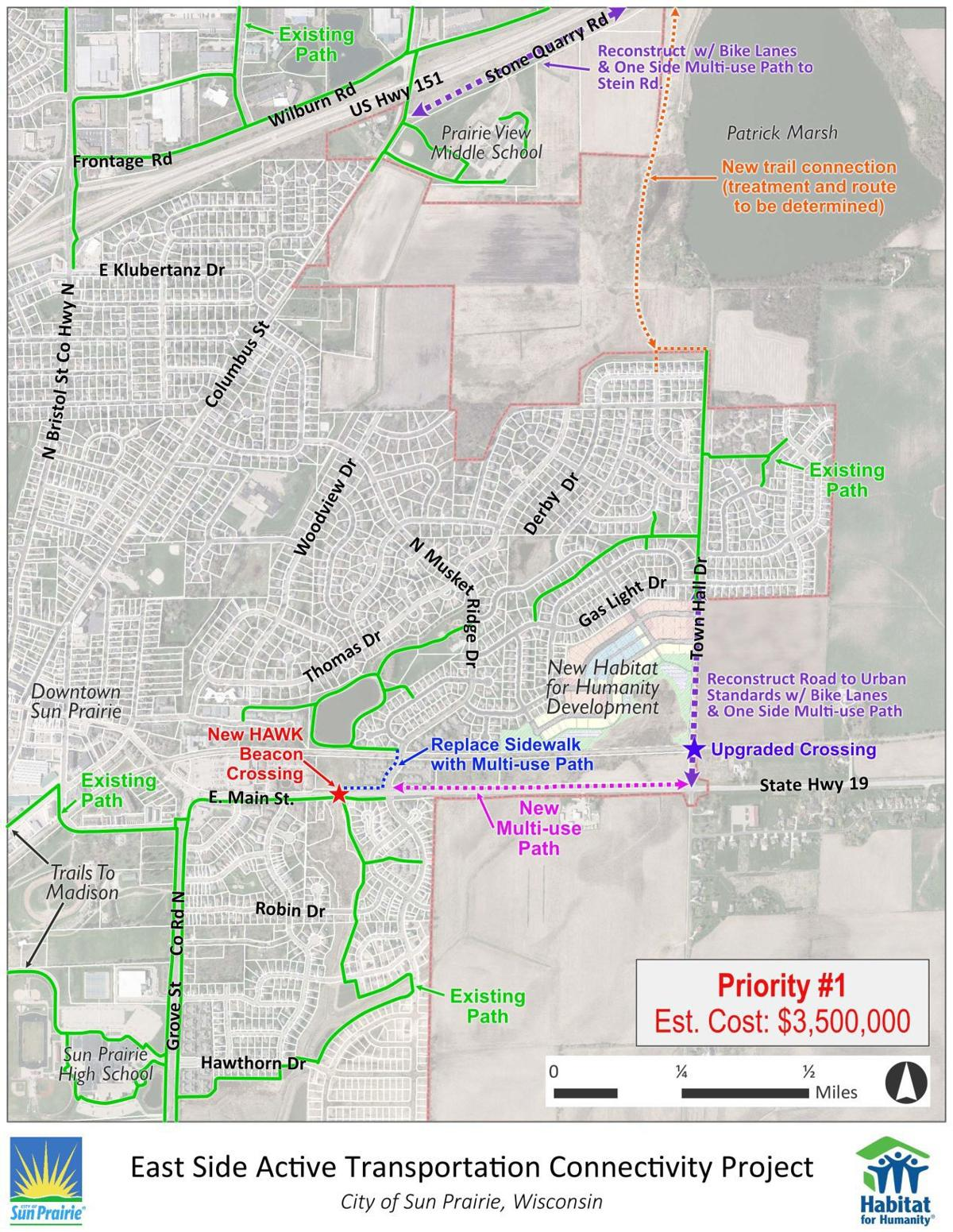 City sets east side multi-use path project for grant application