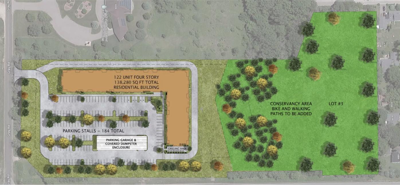 Gebhardt Development proposal image
