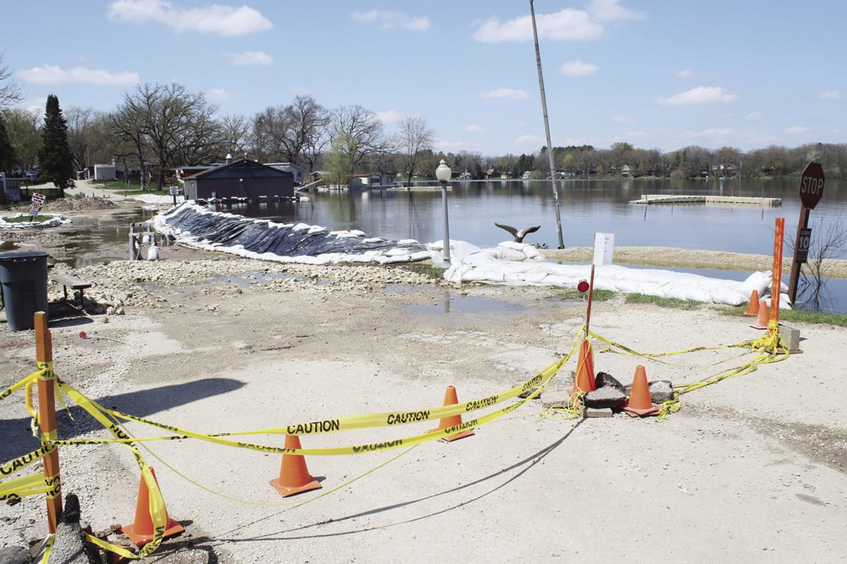 d7004105154e Campground takes the high road to address flooding | Milton Courier ...