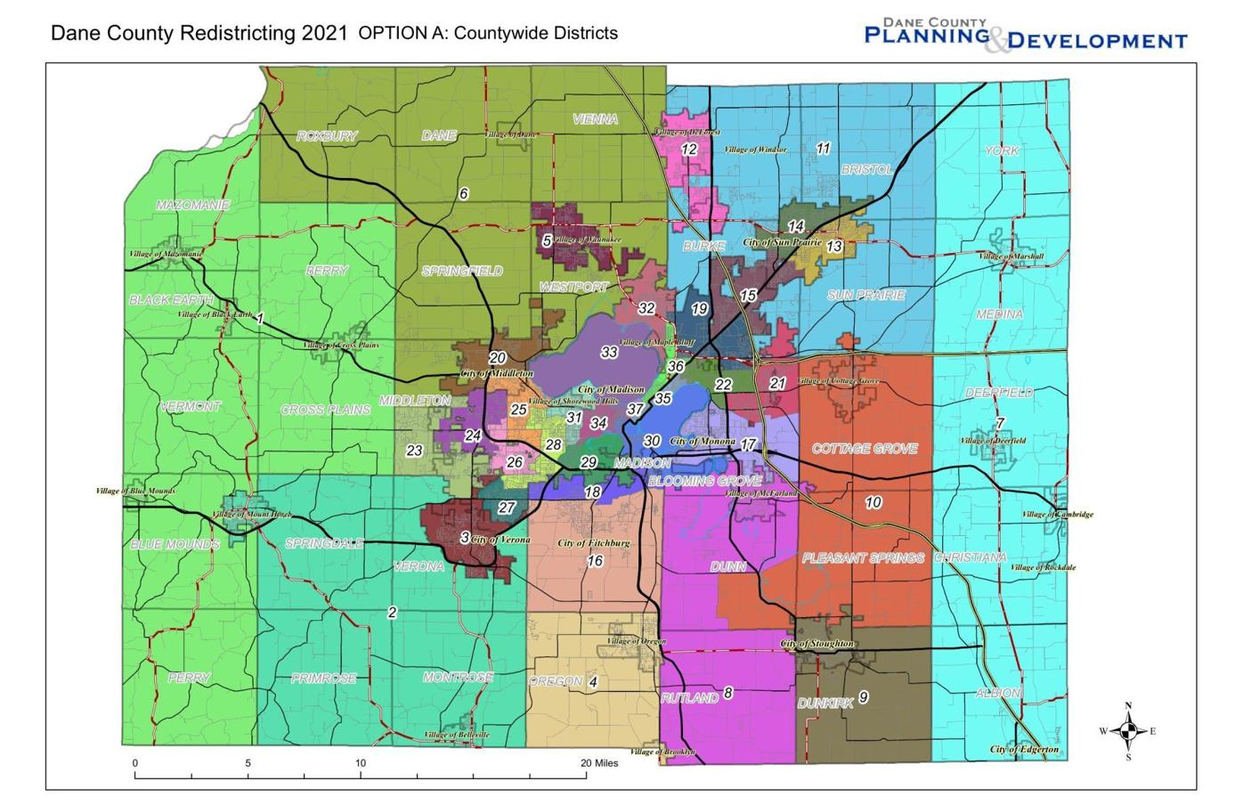 Dane County Redistricting Map Option A.pdf