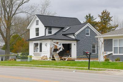 Siggelkow Road house crash