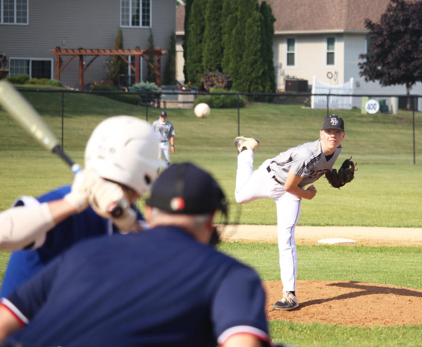 Firing a pitch