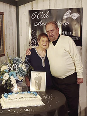 60th wedding anniversary