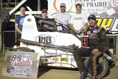 Dan Budres returns to Victory Lane at Angell Park
