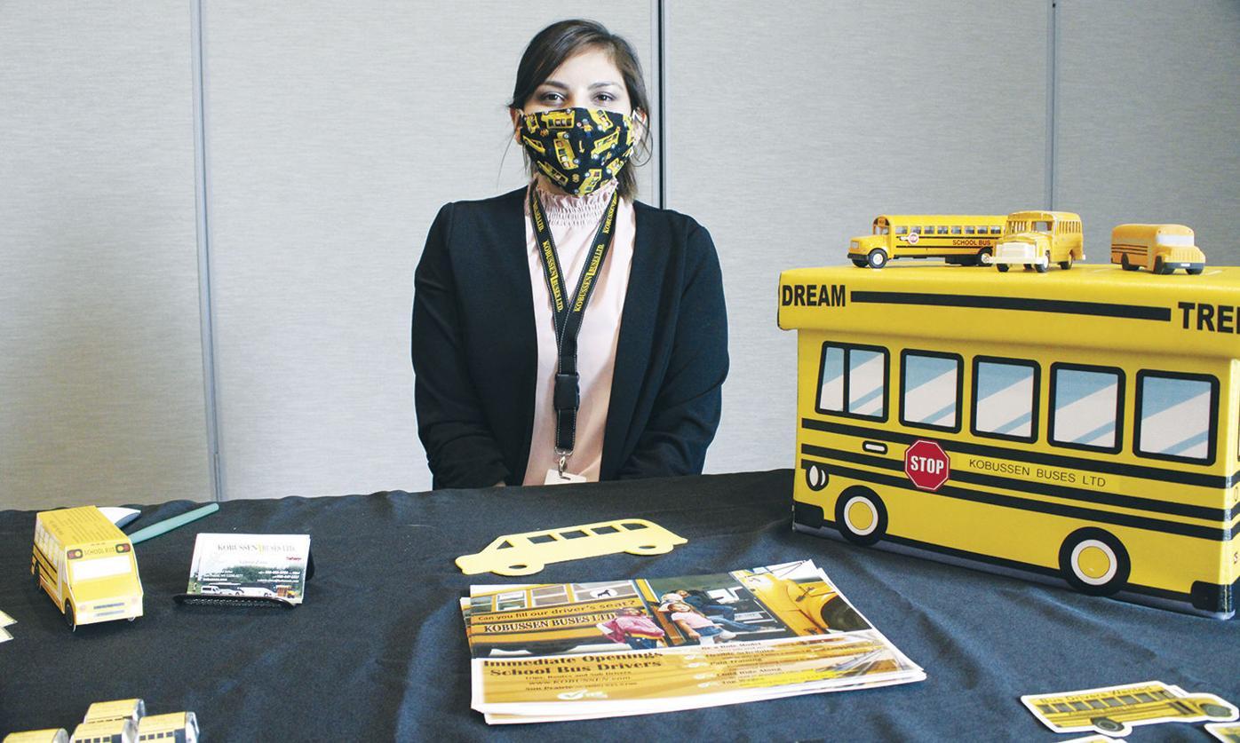 Valerie Zintz from Kobussen Buses