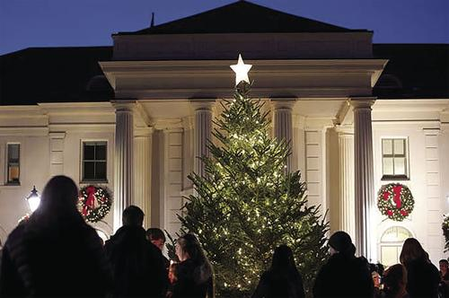 Executive Residence holiday open house schedule set