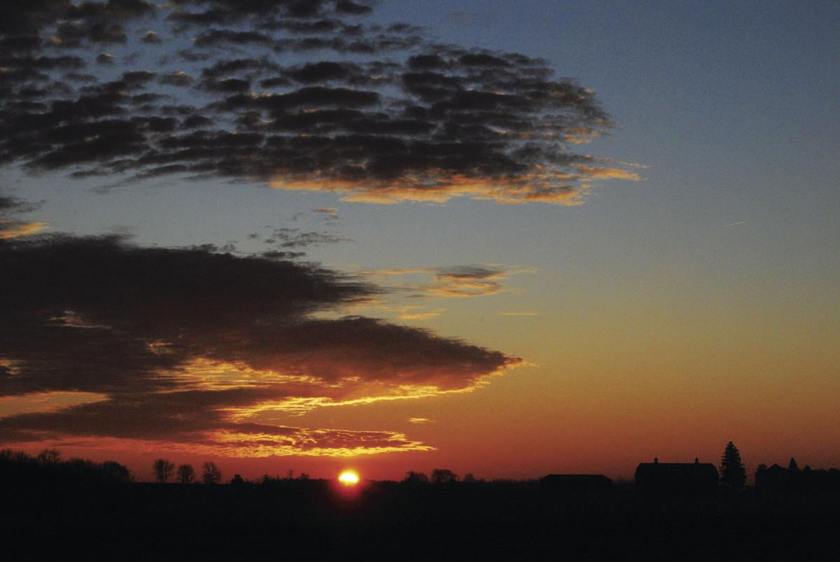 Warm sunrise, cool temperatures
