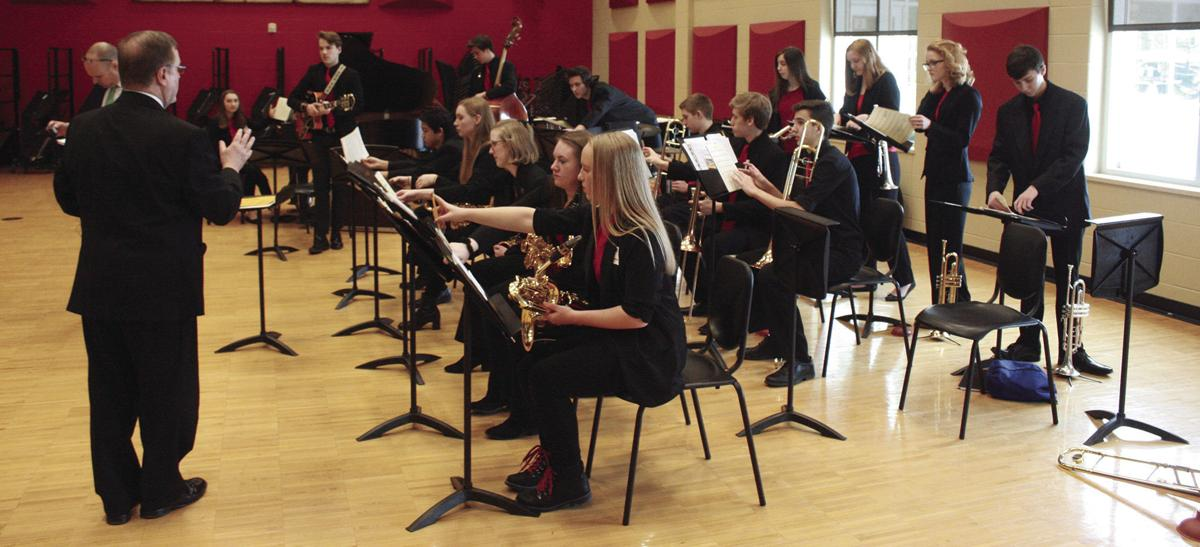Sveum and Sun Prairie High School Jazz I
