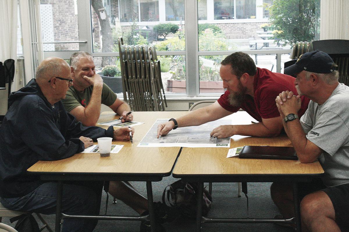 Terry Larson, Doug Rodenkirch, Chris Clinton, Mark Montgomery