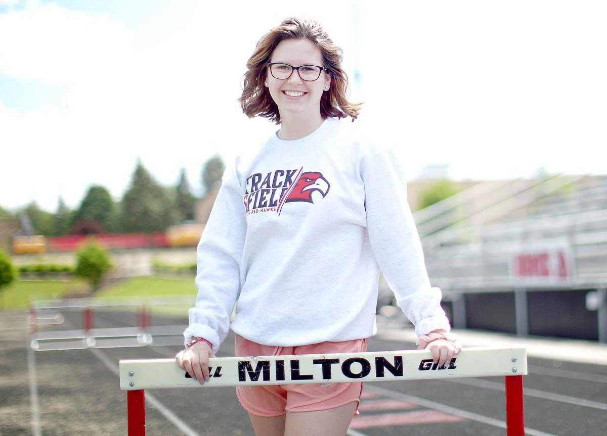 Track and field: Hughes got her final taste of state in gymnastics, not track and field