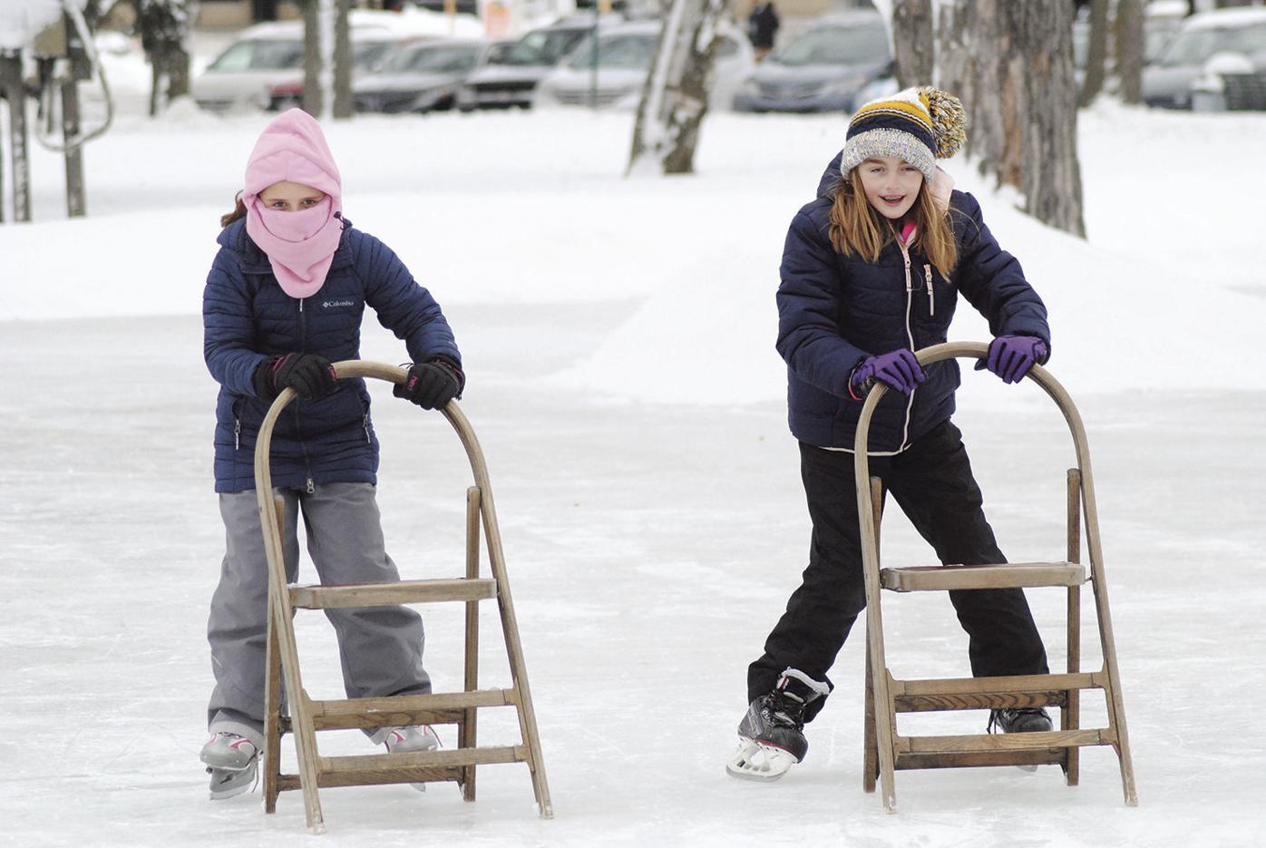 Subzero ice skate