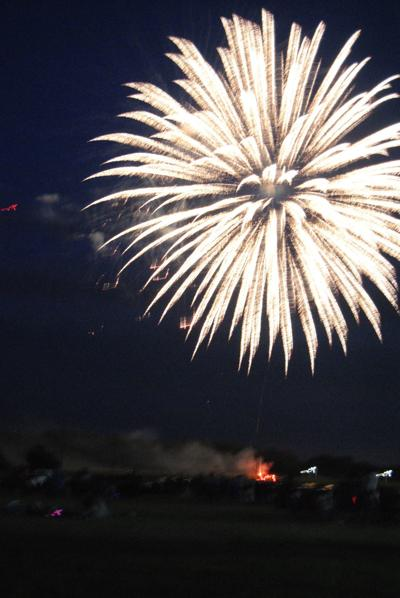 Fireworks to be July 4