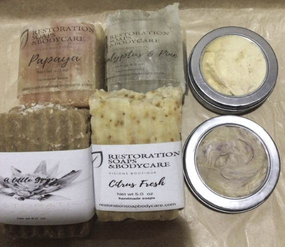 Restorations Soap & Body Care products