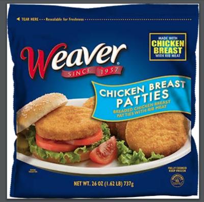 Weaver Chicken Patties (2019)