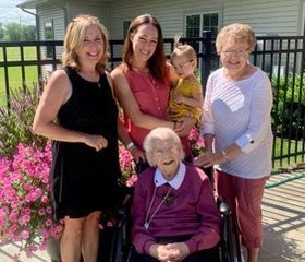 Millie celebrates 100 years