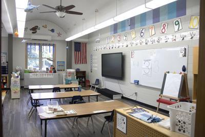 St. John's classroom